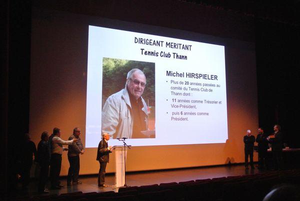 Michel Hirspieler dans la lumière...