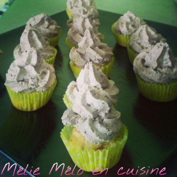 Mini cupcakes à l'olive