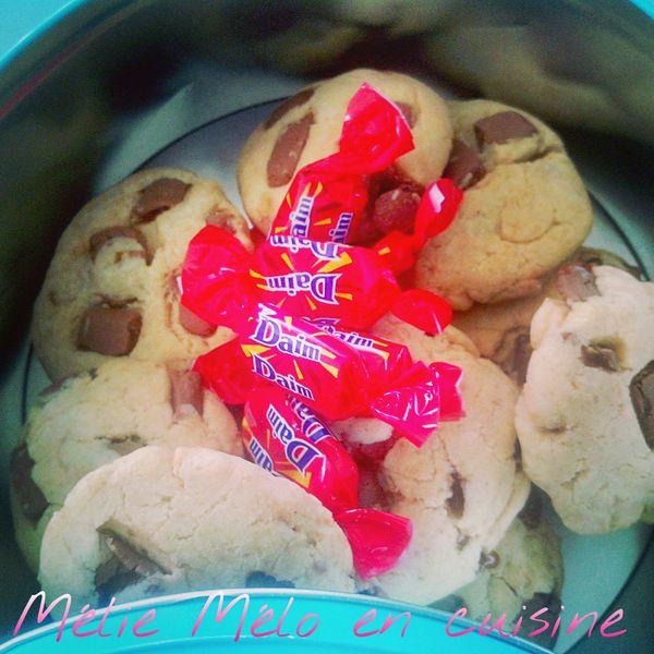 cookies aux daim