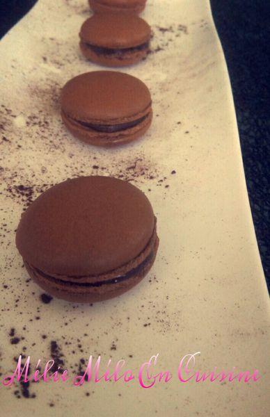 macaron tout chocolat ( avec ou sans thermomix )