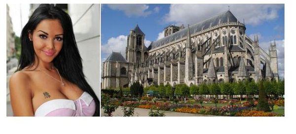 Municipale à Bourges : Nabilla veut faire du Palais Jacques-Cœur « un  manoir hanté » et installer « des balançoires géantes dans la cathédrale ».