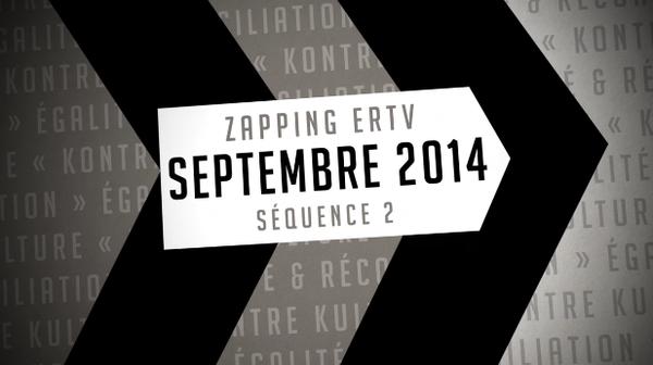 [VIDEO] Le Zapping d'ERTV - Deuxième quinzaine de septembre 2014