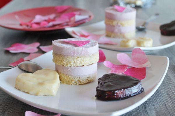 duo Saint Valentin et coeurs marshmallow