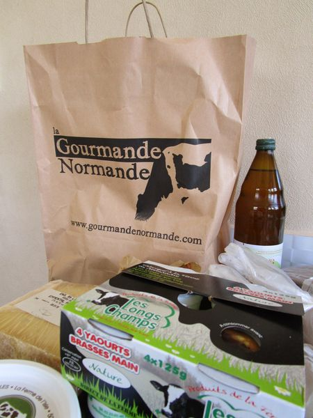 DRIVE NORMAND: LA GOURMANDE NORMANDE