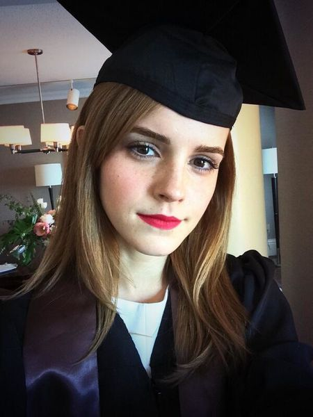 Photo : Emma Watson est diplômée de l'Université de Brown