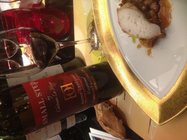 « Un petit pas pour La Haye, un grand pas pour les amateurs de vin », selon Chris Cardon. Cuvée dédiée à Neil Amstrong.
