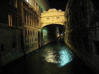 Le Pont des Soupirs, Venise, Italie, Histoire