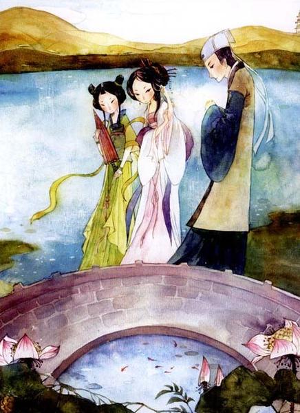 La légende du Serpent Blanc, Mme White Snake, Chine