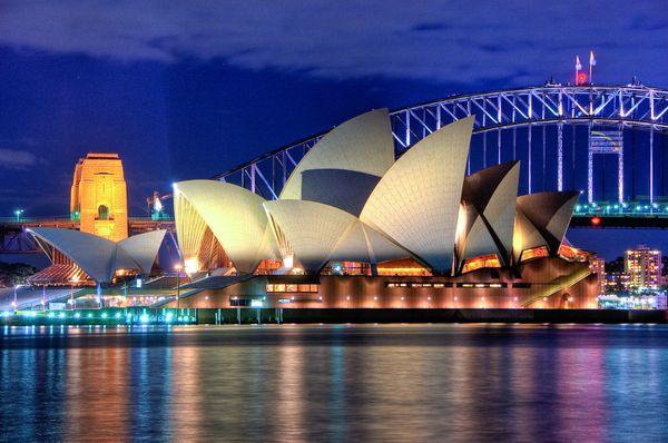 L'Opéra de Sidney, Australie, Histoire