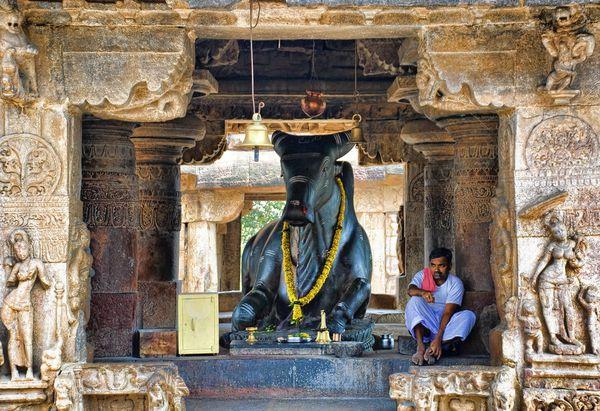 Le Temple Virupaksha, Etat de Karnataka, Inde