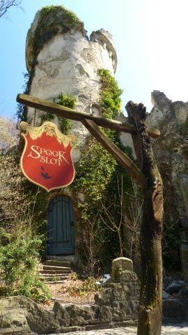 spookslot, maison de l'horreur, Efteling, Pays Bas