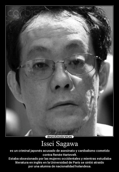 Issei Sagawa, Le japonais cannibale