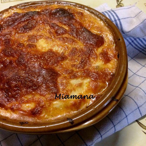 Mes lasagnes aux trois fromages