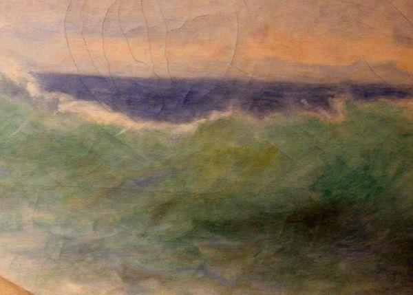 Bouguereau. L'Océanide. Musée des Beaux Arts. La Rochelle