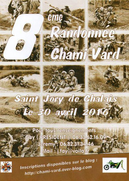 Rando motos des Chami-vard (24), le 30 avril 2016