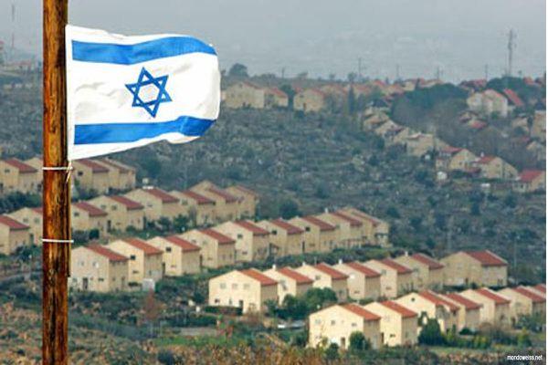 Une colonie sioniste en terre palestinienne