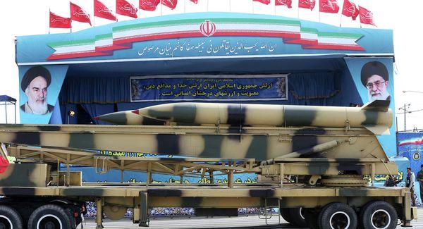 Défilé militaire à Téhéran
