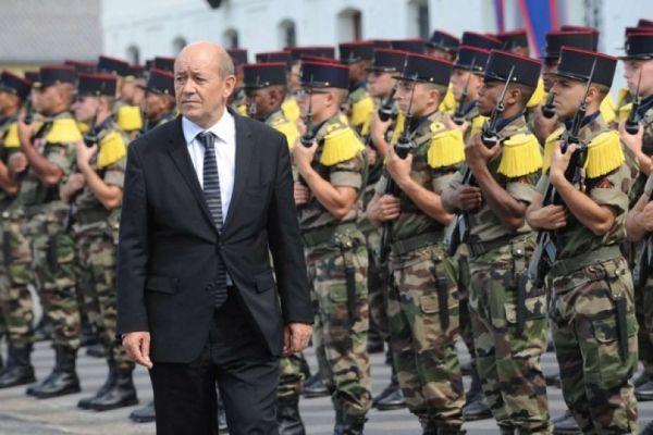 Jean-Yves Le Drian, ministre français de la Défense nationale