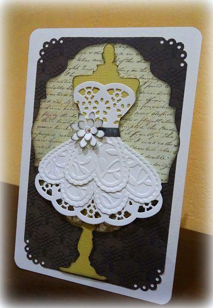 Carte &quot&#x3B;Robe de mariée&quot&#x3B;