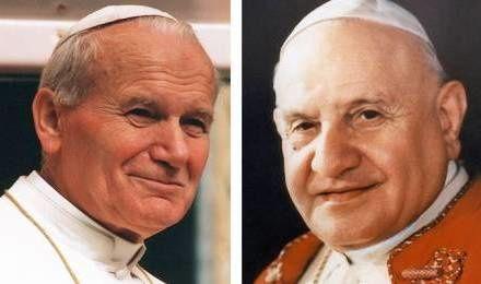 Dimanche 27 avril : canonisations de Jean XXIII et de Jean-Paul II