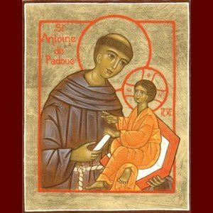 Samedi 13 juin, fête de Saint Antoine de Padoue (+1231)