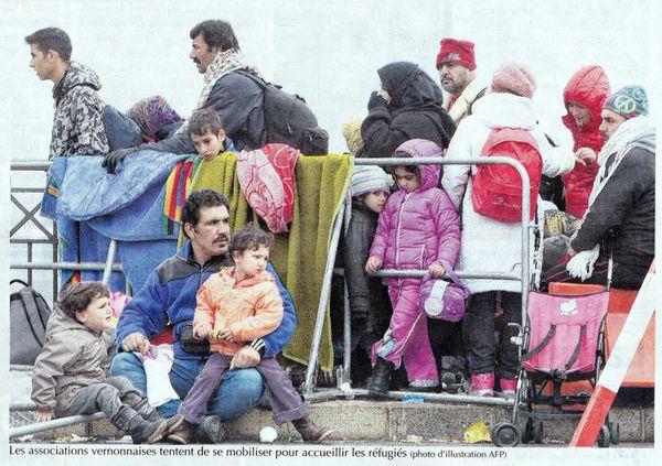Vernon (Eure) : Unis pour les Migrants