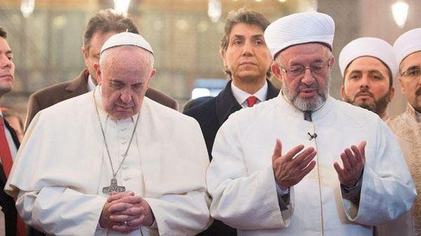 Le pape François officiellement invité à la mosquée de Rome