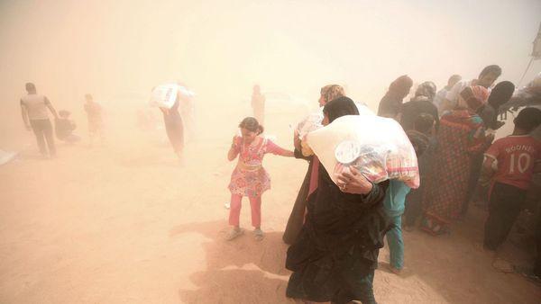 Les déplacés irakiens de Fallouja d'un enfer à un autre