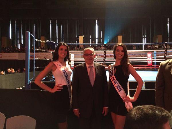 Au 1er pro savate tour, boxe française, au palais des congrès avec Jean Marc Pujol:T'es à l'image du rap de ta cité! Tu t'affiches!