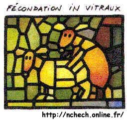 fécondation in vitraux