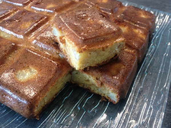 Gâteau Tablette poire/mangue