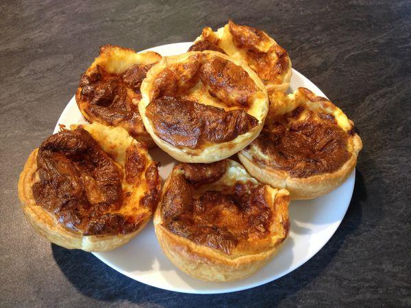Tartelettes aux fromages
