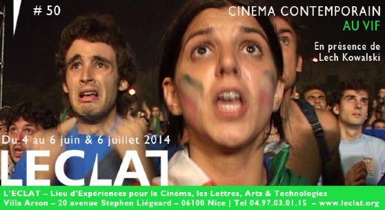 NICE:L'ECLAT - AU VIF DU CINEMA LE MONDE CONTEMPORAIN