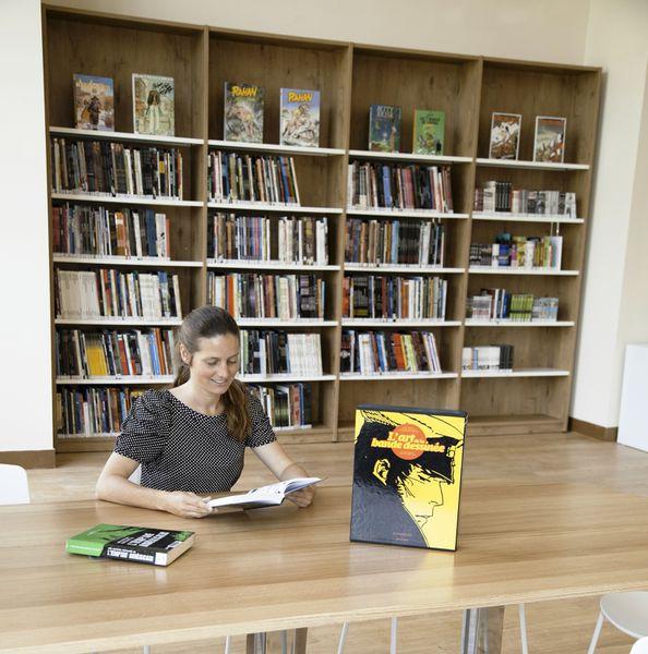 Bienvenue à la nouvelle Bibliothèque de Menton