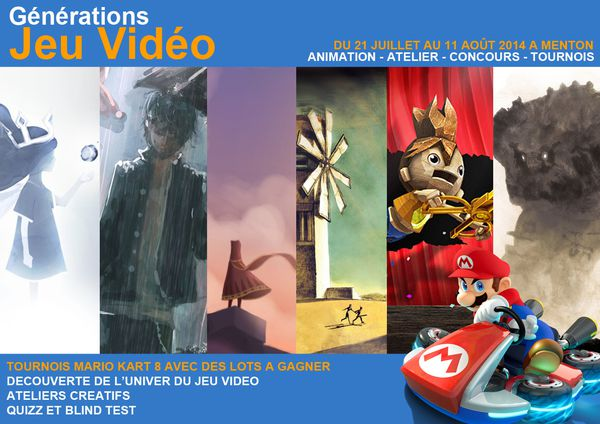GENERATION JEUX VIDEO A' MENTON