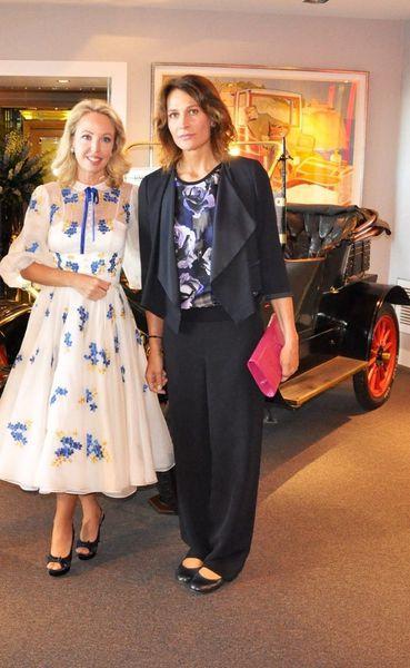 Aristochic: Entretien de S.A.R La Princesse Antonella d'Orléans-Bourbon avec SAR La Princesse Camilla de Bourbon Deux Siciles, Duchesse de Castro