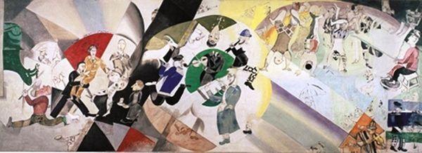 le Grimaldi Forum Monaco présentera  du 12 juillet au 6 septembre 2015 « De Chagall à Malevitch, la révolution des avant-gardes »