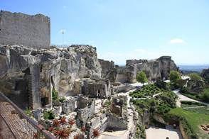 le Château des Baux-de-Provence en famille