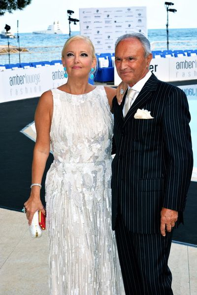 THE MARCHIONESS ROBERTA GILARDI AND HER HUSBAND Dr. SESTITO