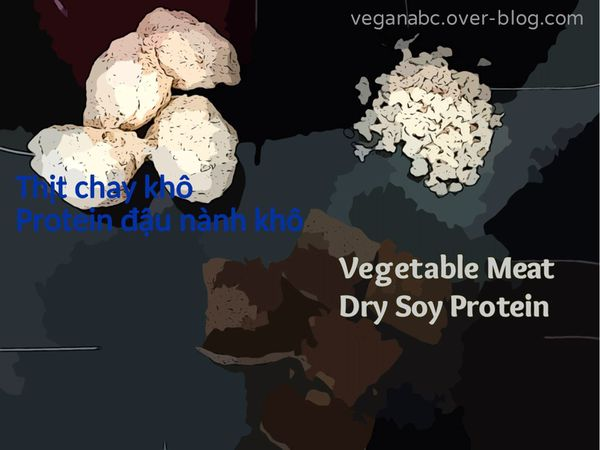 Thịt chay khô - Dry Vegetable Meat