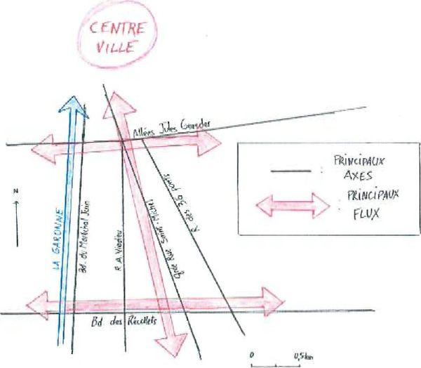 B. LE CONTEXTE URBAIN AUTOUR DE LA PRISON