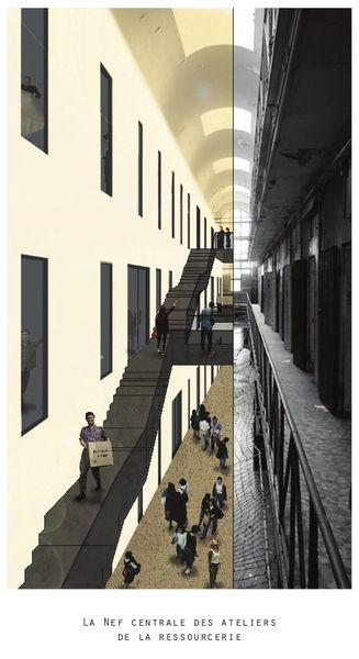 MURMURES, Reconversion de la Prison Saint-Michel, Toulouse