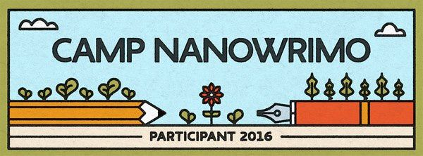 Camp NaNoWriMo - Avril 2016