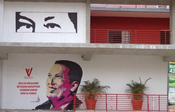 La propagande politique à Caracas