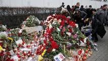 Moscou, devant l'Ambassade de France.