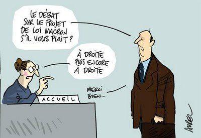 Loi Macron, une loi contre l'écologie