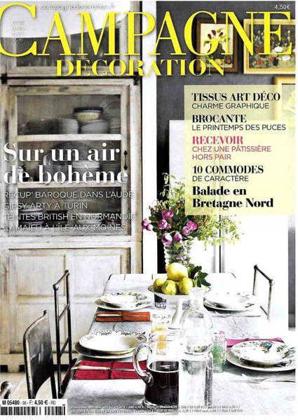 campagne et décoration magazine
