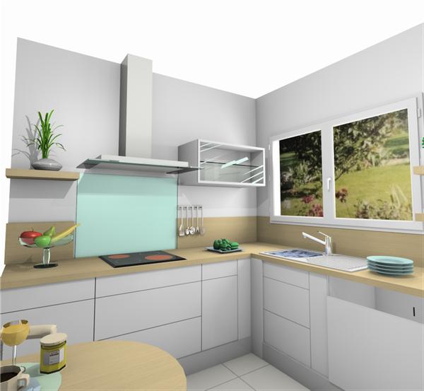 Projet cuisine: simulations 3D