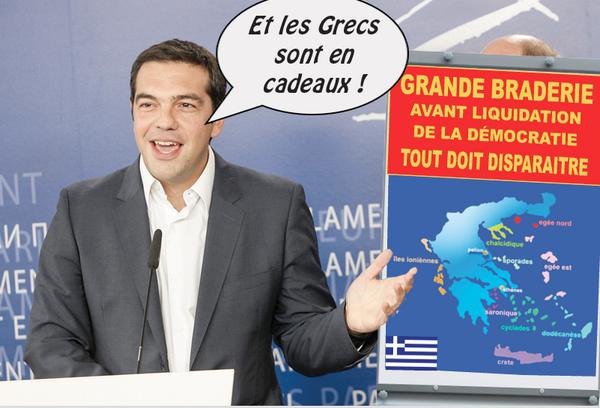 Grèce: La trahison consommée