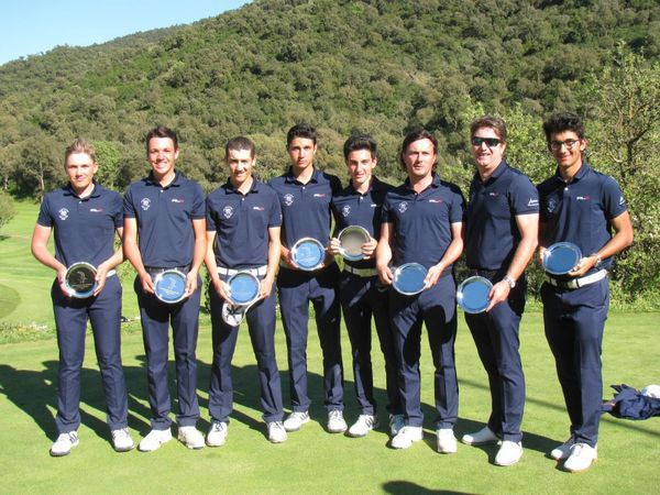 INFO GOLF du Week end: Cannes Mougins Champion de Ligue par équipes Messieurs 2016